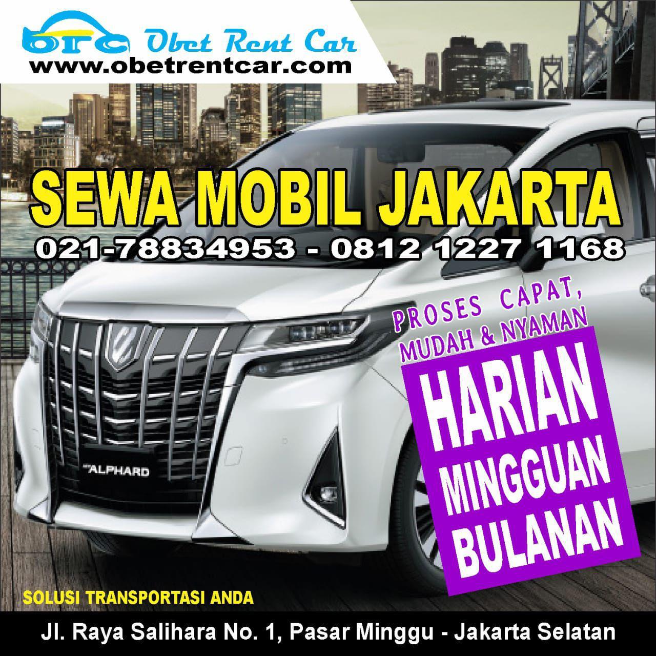 Sewa Mobil Alphard Jakarta